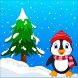 Historieta linda del pingüino libre illustration