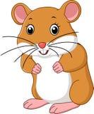 Historieta linda del ratón Fotografía de archivo libre de regalías
