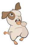 Historieta marrón divertida del conejillo de Indias Imagen de archivo libre de regalías