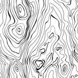 Historieta pintada textura inconsútil de madera Foto de archivo libre de regalías