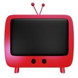 Historieta roja TV Imagen de archivo