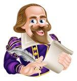 Historieta Shakespeare stock de ilustración