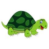 Historieta sonriente de la tortuga Foto de archivo libre de regalías