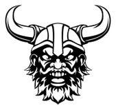 Historieta Viking Mascot Imagen de archivo