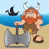 Historieta vikingo Imagen de archivo libre de regalías