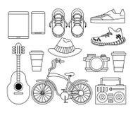 Historietas de la moda del inconformista libre illustration