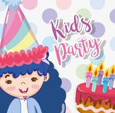 Historietas del partido de los niños libre illustration