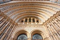 historii London muzeum naturalny Zdjęcia Stock