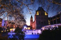 historii London muzeum naturalny Zdjęcia Royalty Free