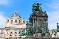 Historii Naturalnej Maria Theresia i muzeum zabytek Zdjęcie Royalty Free