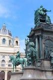 Historii Naturalnej Maria Theresia i muzeum zabytek Obraz Stock
