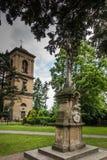 Historisch, acht hundert Jahre des alten Klosters, die Nonnen des Bens Stockbild