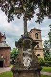 Historisch, acht hundert Jahre des alten Klosters, die Nonnen des Bens Lizenzfreie Stockfotografie
