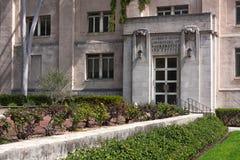 Historisch Alfred Sload Labratory op de campus van Caltech in Pasa Stock Afbeeldingen