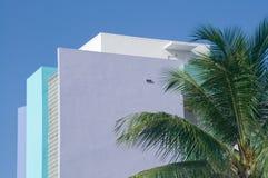 Historisch Art deco - Miami, Florida Stock Afbeeldingen