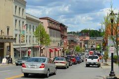 Historisch Bangor van de binnenstad, Maine royalty-vrije stock afbeeldingen