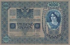 Historisch - bankbiljet Royalty-vrije Stock Foto