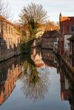Historisch Brugge Stock Afbeelding
