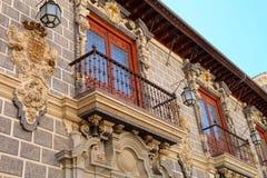 Historisch centrum in Granada, Spanje royalty-vrije stock foto