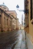 Historisch centrum, Parma Stock Foto's