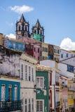 Historisch centrum Pelourinho, Salvador, Bahia, Brazilië stock afbeeldingen