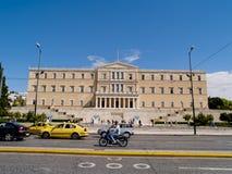 Historisch centrum van Athene, Griekenland. Stock Foto's