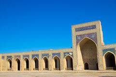 Historisch Centrum van Boukhara Royalty-vrije Stock Afbeeldingen