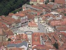 Historisch centrum van Brasov Royalty-vrije Stock Afbeeldingen