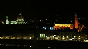 Historisch centrum van Florence stock footage