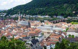 Historisch centrum van Heidelberg Royalty-vrije Stock Foto's
