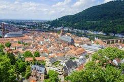 Historisch centrum van Heidelberg Stock Fotografie