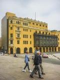 Historisch Centrum van Lima in Peru Stock Afbeelding