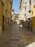 Historisch centrum van Porec - Kroatië Stock Foto