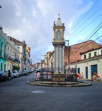 Historisch Centrum van Salvador Stock Foto