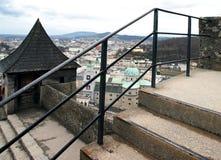 Historisch centrum van Salzburg, Oostenrijk Stock Foto