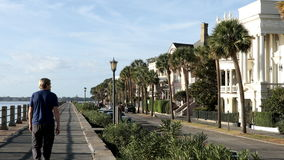 Historisch Charleston Waterfront stock video