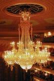 Historisch de bouw van het Bolshoitheater binnenland Royalty-vrije Stock Foto