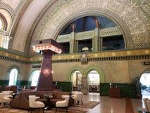 Historisch de bouwst.louis station binnen, MO de V.S. stock afbeelding