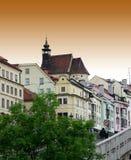 Historisch deel van oude stad Stock Fotografie