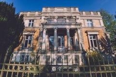 Historisch Duits Herenhuis in Potsdam Stock Foto's