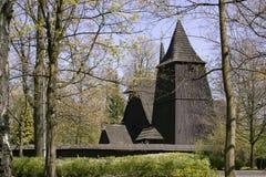 Historisch, 16 eeuw houten kerk royalty-vrije stock fotografie