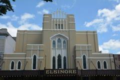 Historisch Elsinore-Theater in Salem, Oregon Stock Foto's