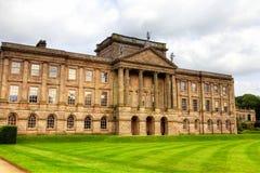 Historisch Engels Waardig Huis Royalty-vrije Stock Fotografie