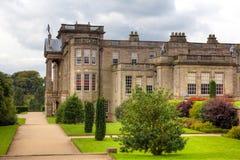 Historisch Engels Waardig Huis Royalty-vrije Stock Afbeelding
