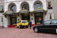 Historisch Fairmont-Hotel, San Francisco, Californië stock fotografie