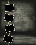 Historisch fotomalplaatje Royalty-vrije Stock Afbeeldingen