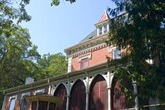 Historisch Herenhuis in New Ulm Stock Foto's
