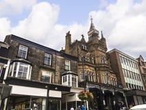 Historisch in het Westen het Berijden van Yorkshire, is Harrogate een toeristenbestemming en zijn bezoekeraantrekkelijkheden omva royalty-vrije stock fotografie