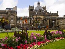 Historisch in het Westen het Berijden van Yorkshire, is Harrogate een toeristenbestemming en zijn bezoekeraantrekkelijkheden omva royalty-vrije stock afbeeldingen
