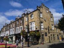 Historisch in het Westen het Berijden van Yorkshire, is Harrogate een toeristenbestemming en zijn bezoekeraantrekkelijkheden omva royalty-vrije stock foto